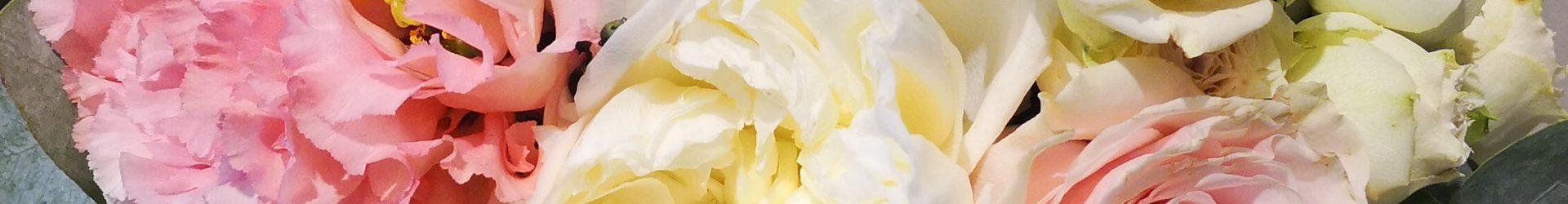 Bouquet fiori colori pastello