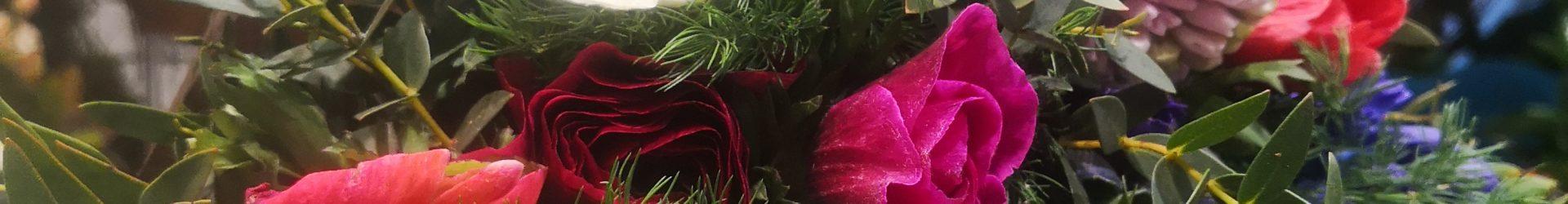 Bouquet fuxia